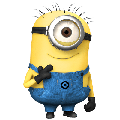 Minion png images. Minions transparent stickpng cute