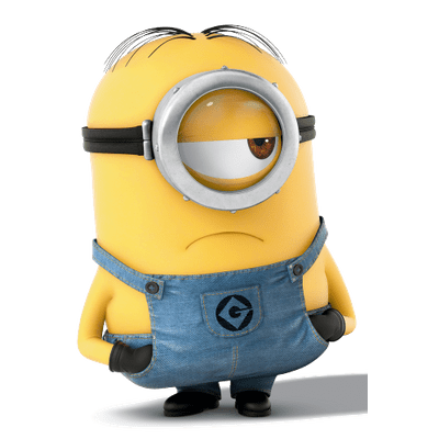 Minions transparent stickpng concerned. Minion png images
