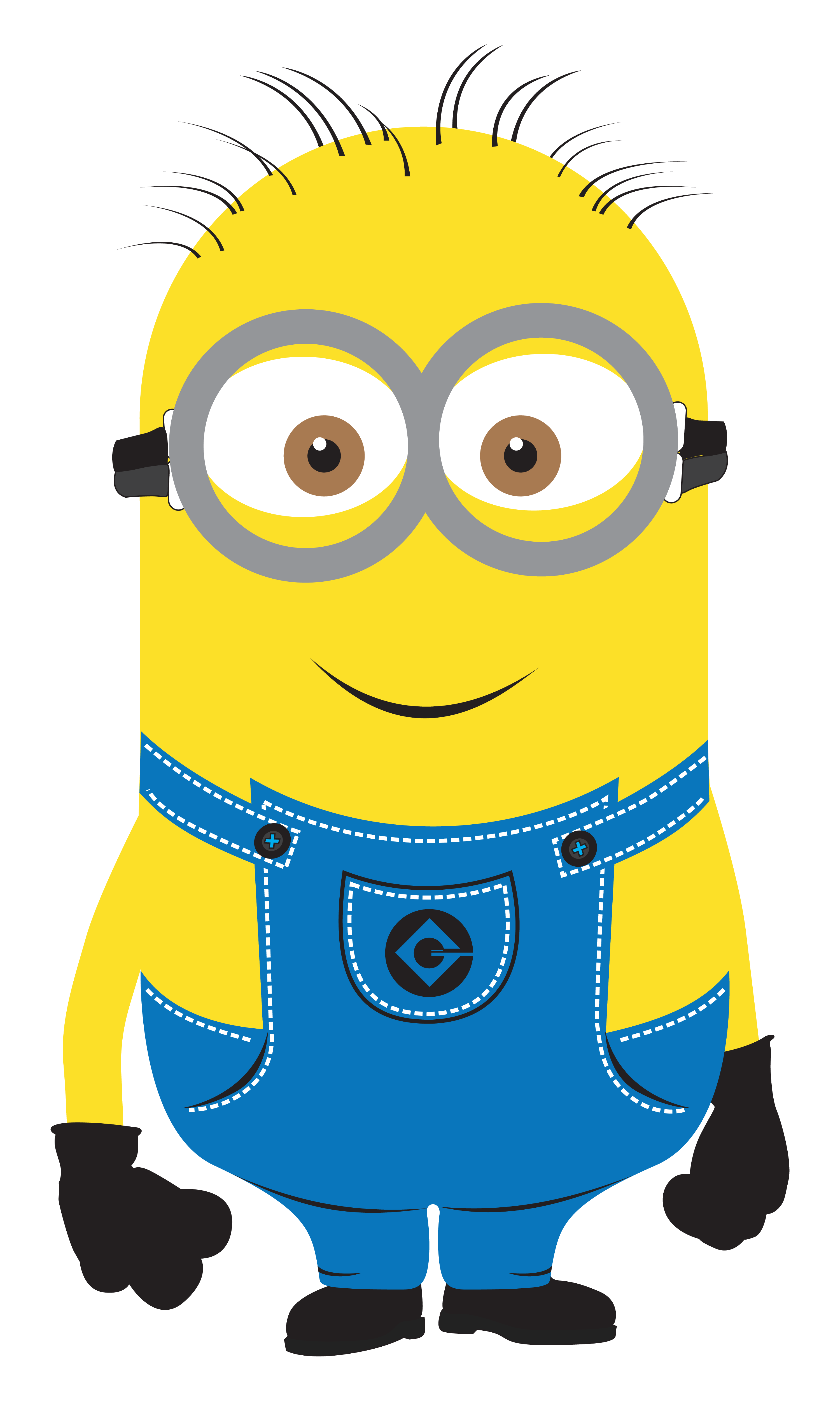 Up clipart kevin. Despicable me minions vector