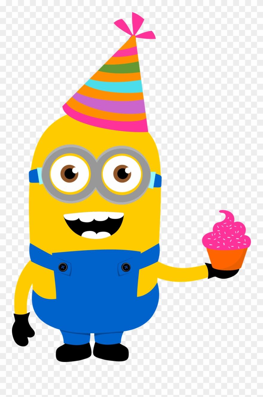 Minions clipart bday. Minus cricut birthday cards