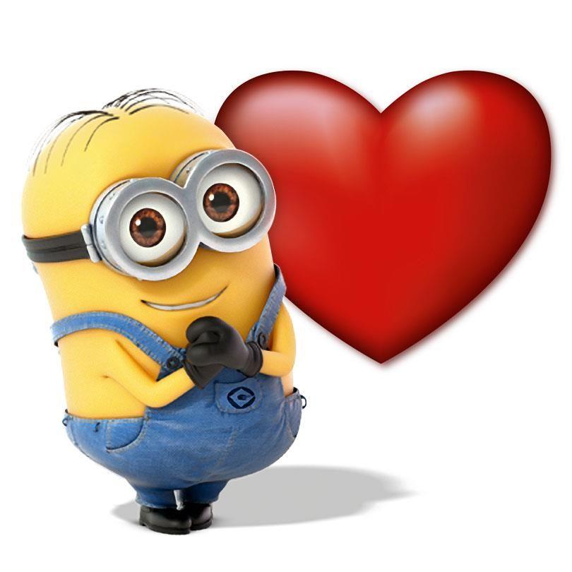 Minion cliparts free download. Minions clipart heart