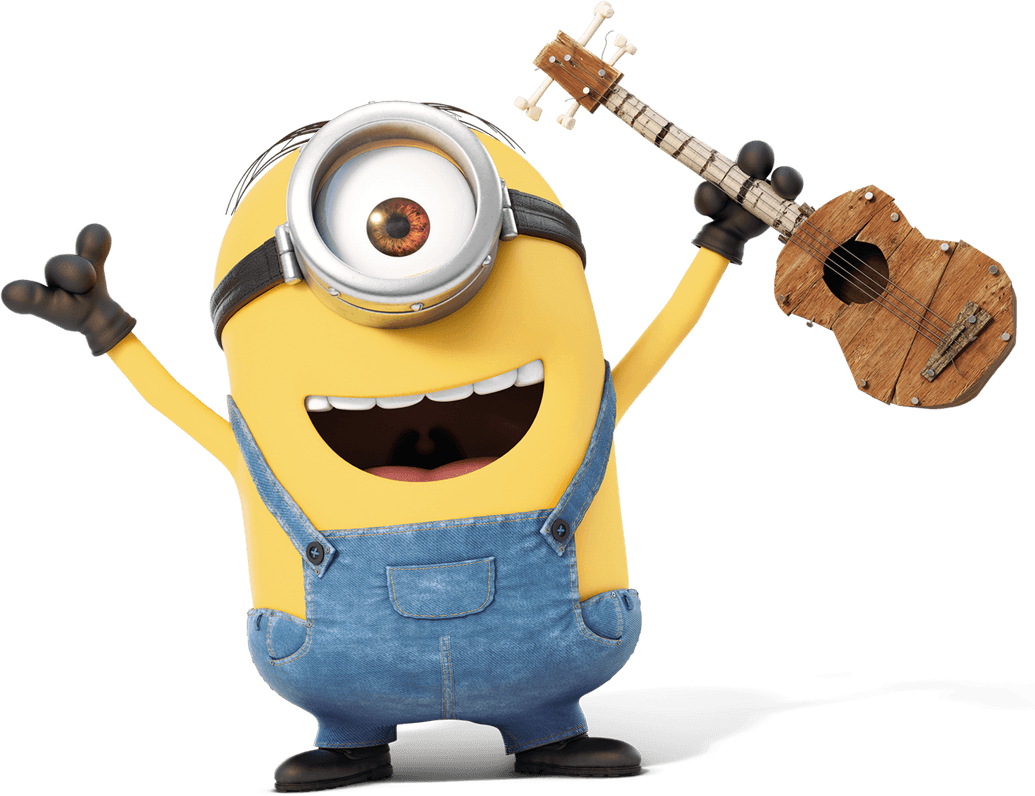 Minions clipart jumping. Violao png pinterest minionsviolaopng