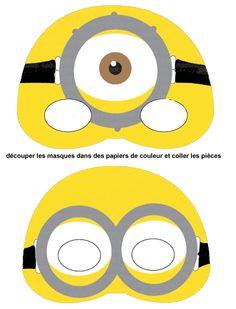 Abecedario con letras de. Minions clipart mask