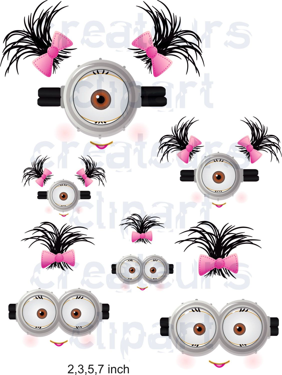 awesome minion eyes. Minions clipart mouth