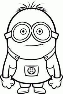 Minions clipart outline. Free minion cliparts download