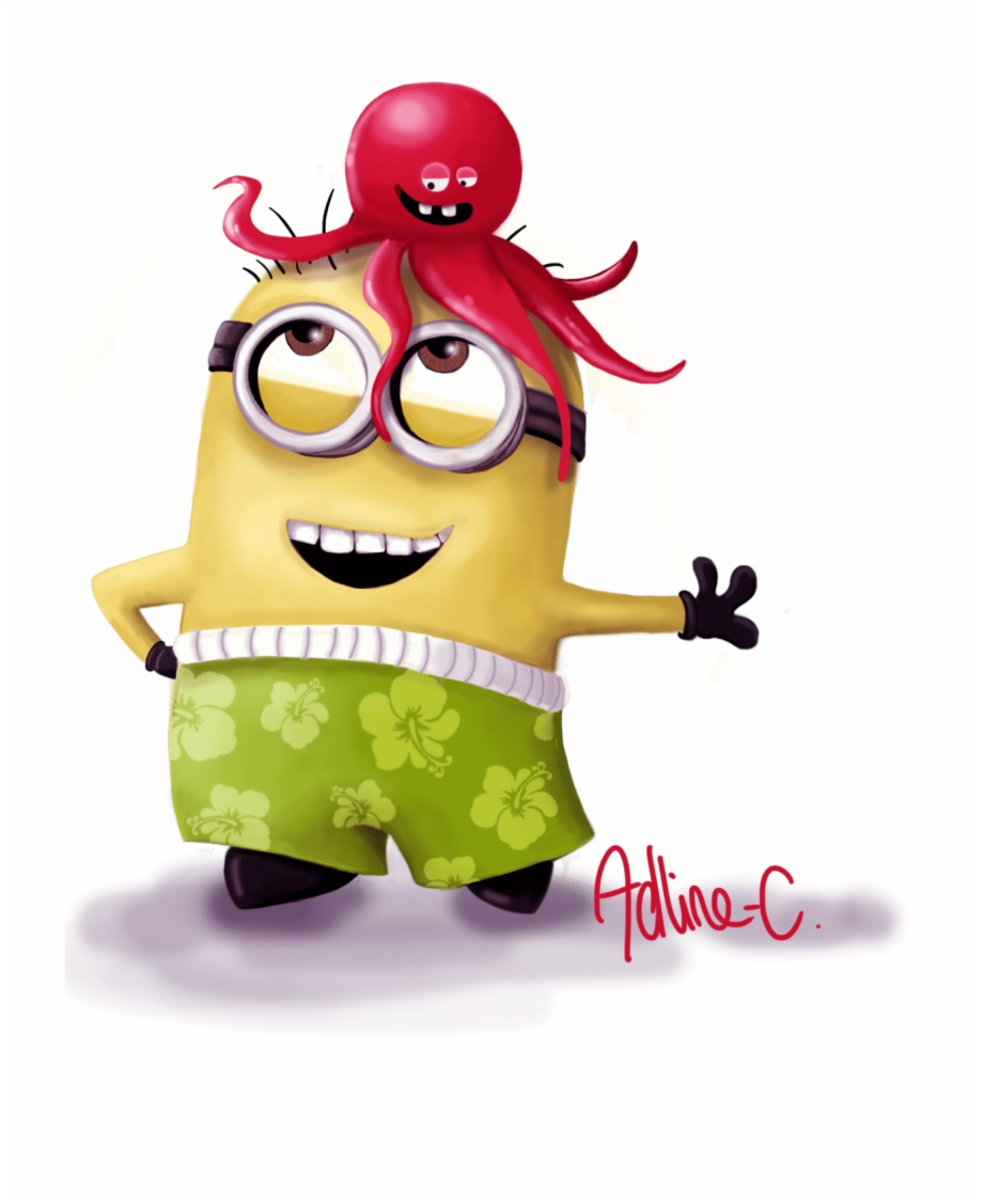 Minions clipart summer. Despicable me christmas sayings