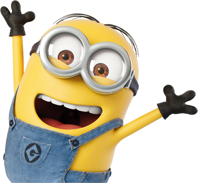 Minions png images.  for free download