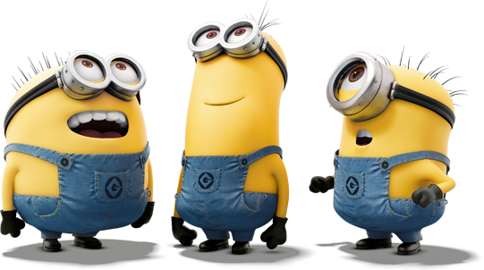 Minions png images. Heroes transparent free download