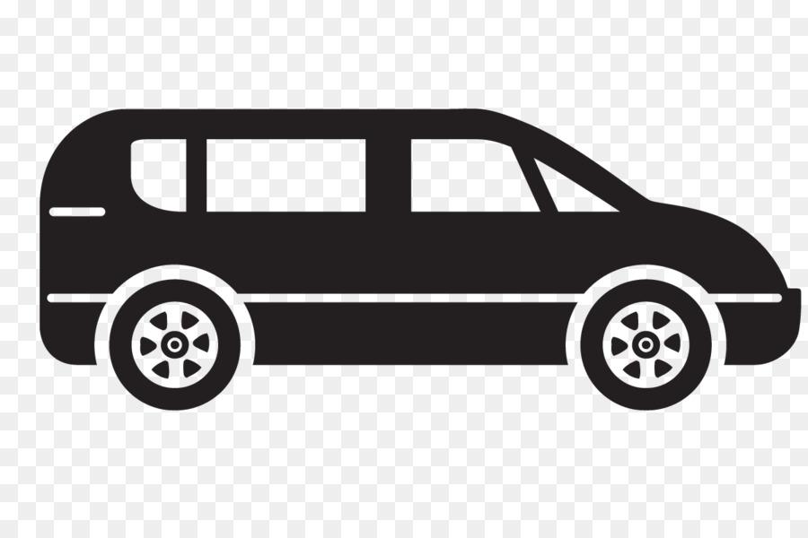 Car cartoon van transparent. Minivan clipart