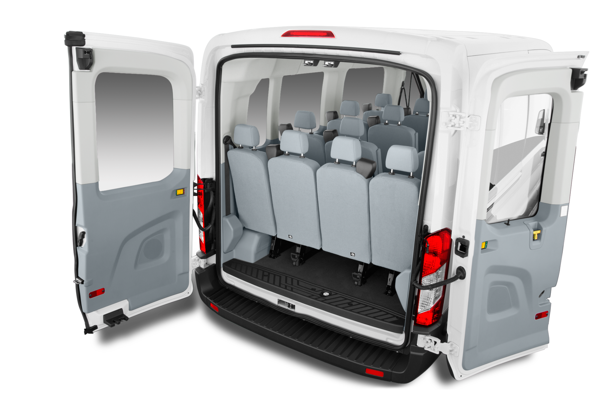 Minivan clipart 15 passenger van. Car trunk free on