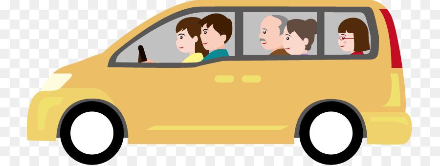 Family car Minivan Clip art - Mini Van Cliparts png download - 789 ...