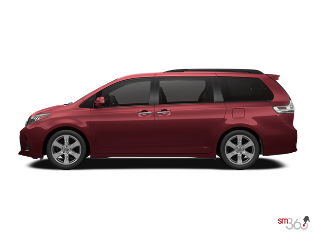 Se toyota sienna for. Minivan clipart above