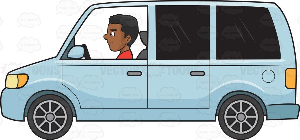 Mini van free download. Minivan clipart animated