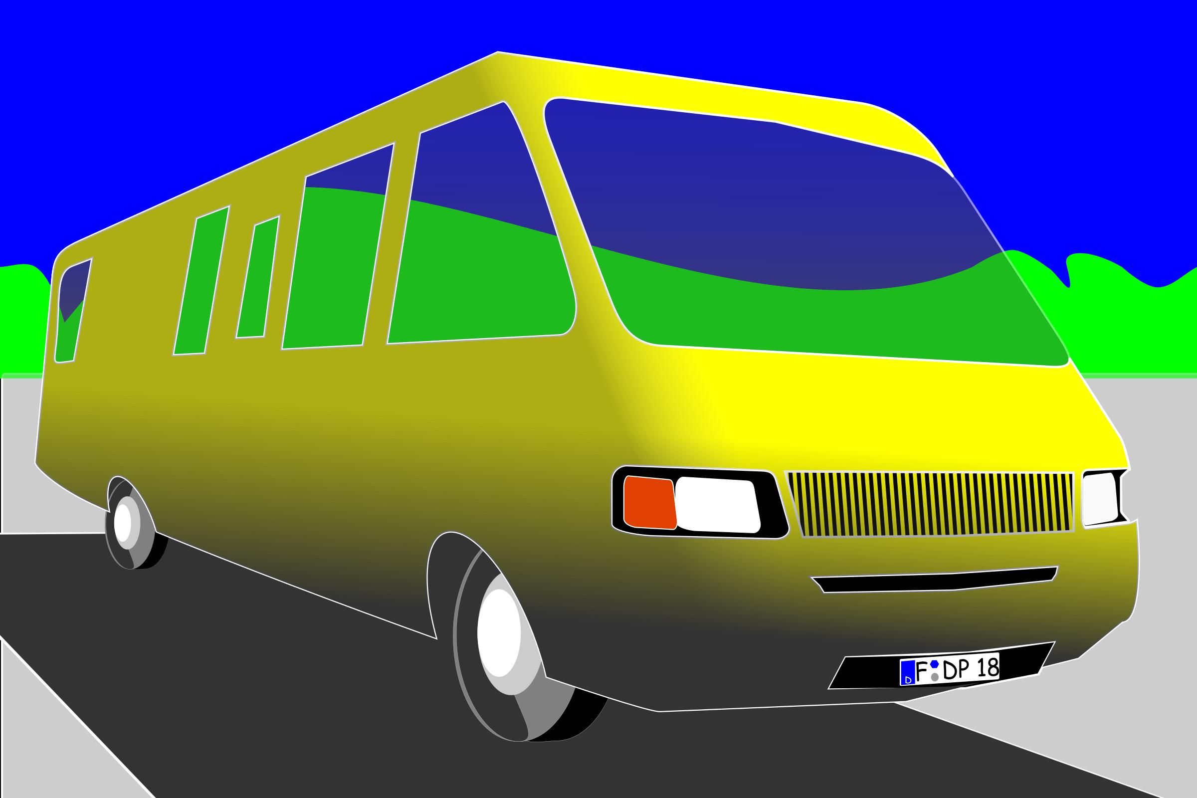 Caravan image png. Minivan clipart big car