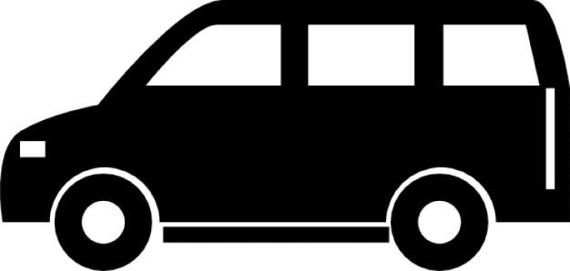 Van icons free download. Minivan clipart big car