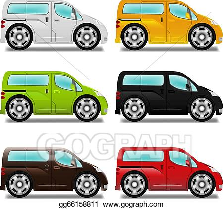 minivan clipart big car