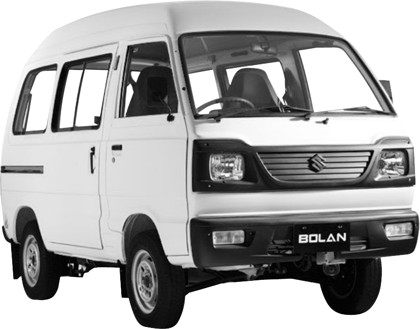Bolan carry daba sialkot. Minivan clipart black and white