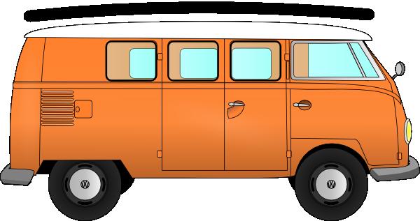 Free volkswagen van cliparts. Minivan clipart bus vw