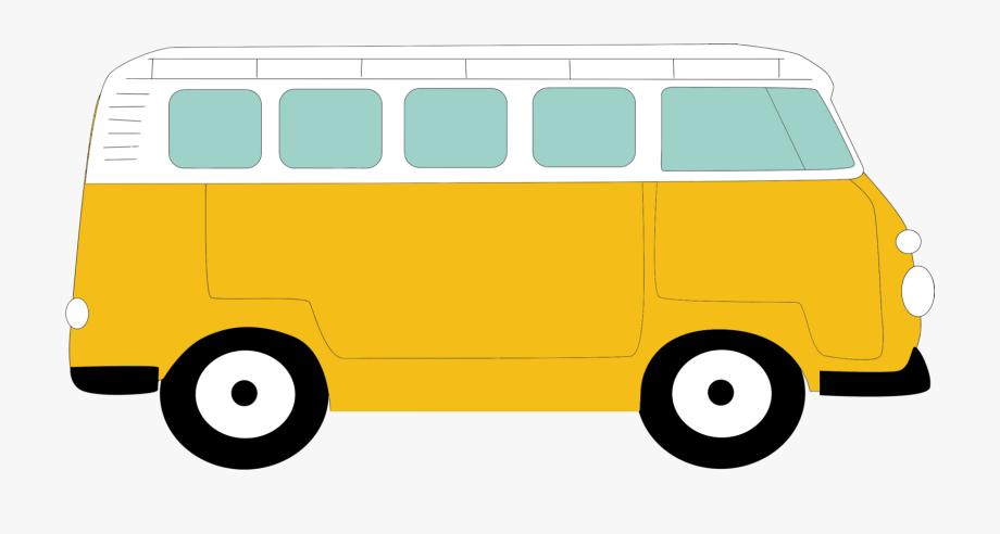 Minivan clipart bus vw. Volkswagen type beetle van