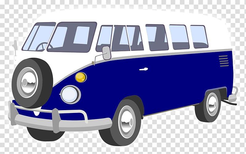 Van volkswagen type car. Minivan clipart campervan