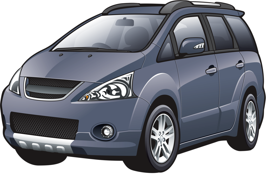 Minivan clipart car cute.  png vehicle and