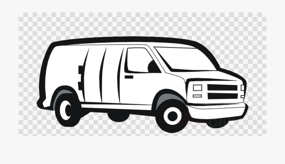 Minivan clipart car journey. Van desenho volkswagen type