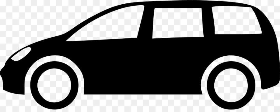 Black background van . Minivan clipart car line