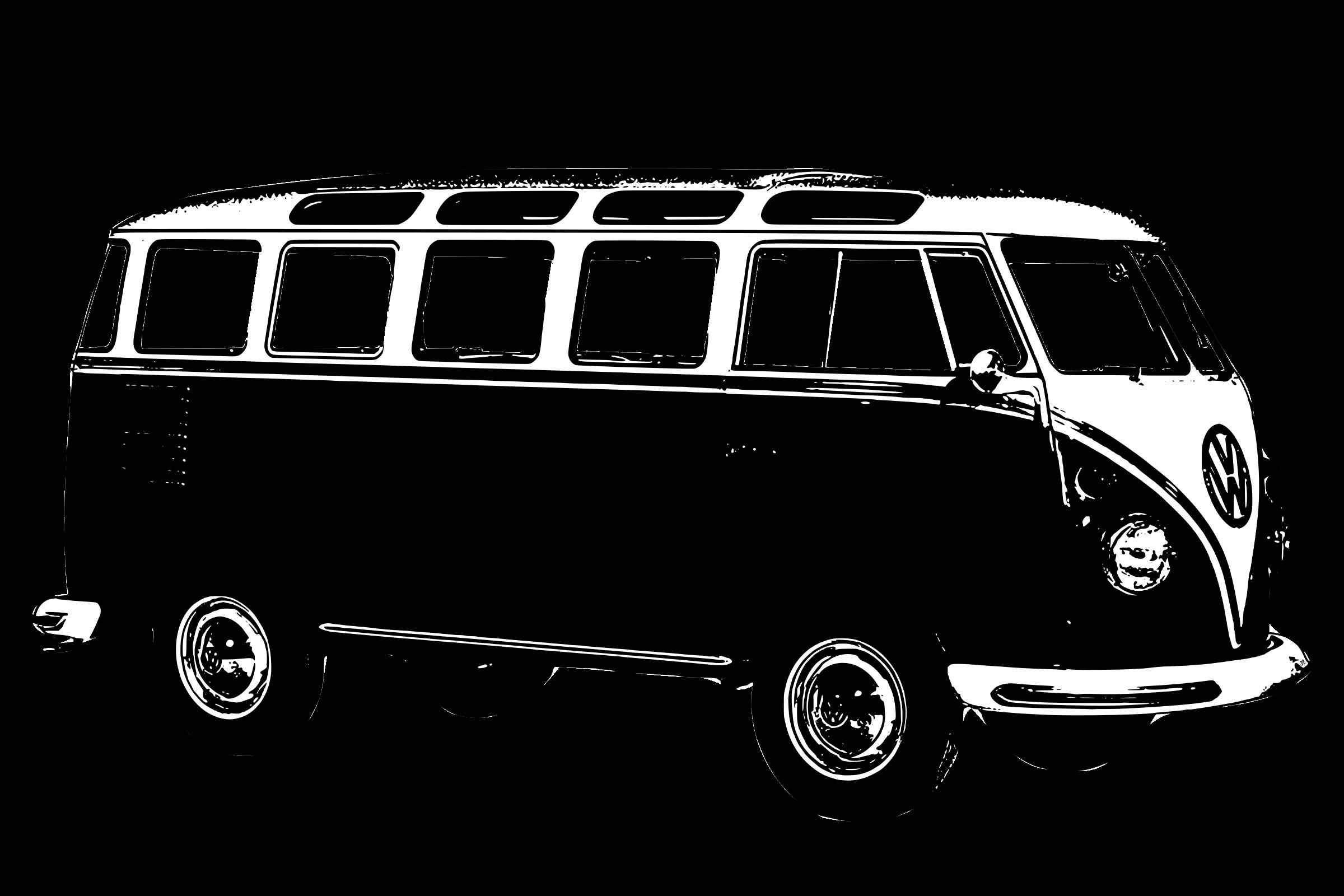 Volkswagen t type big. Minivan clipart car line
