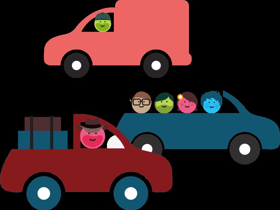 Share sydney melbourne brisbane. Minivan clipart car ride