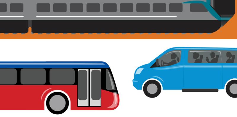 Drive less smile more. Minivan clipart carpool