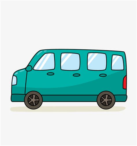 Van tristateportapotty . Minivan clipart cartoon