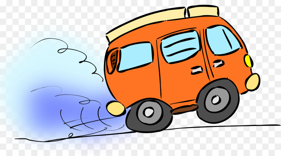 Car van transparent clip. Minivan clipart cartoon