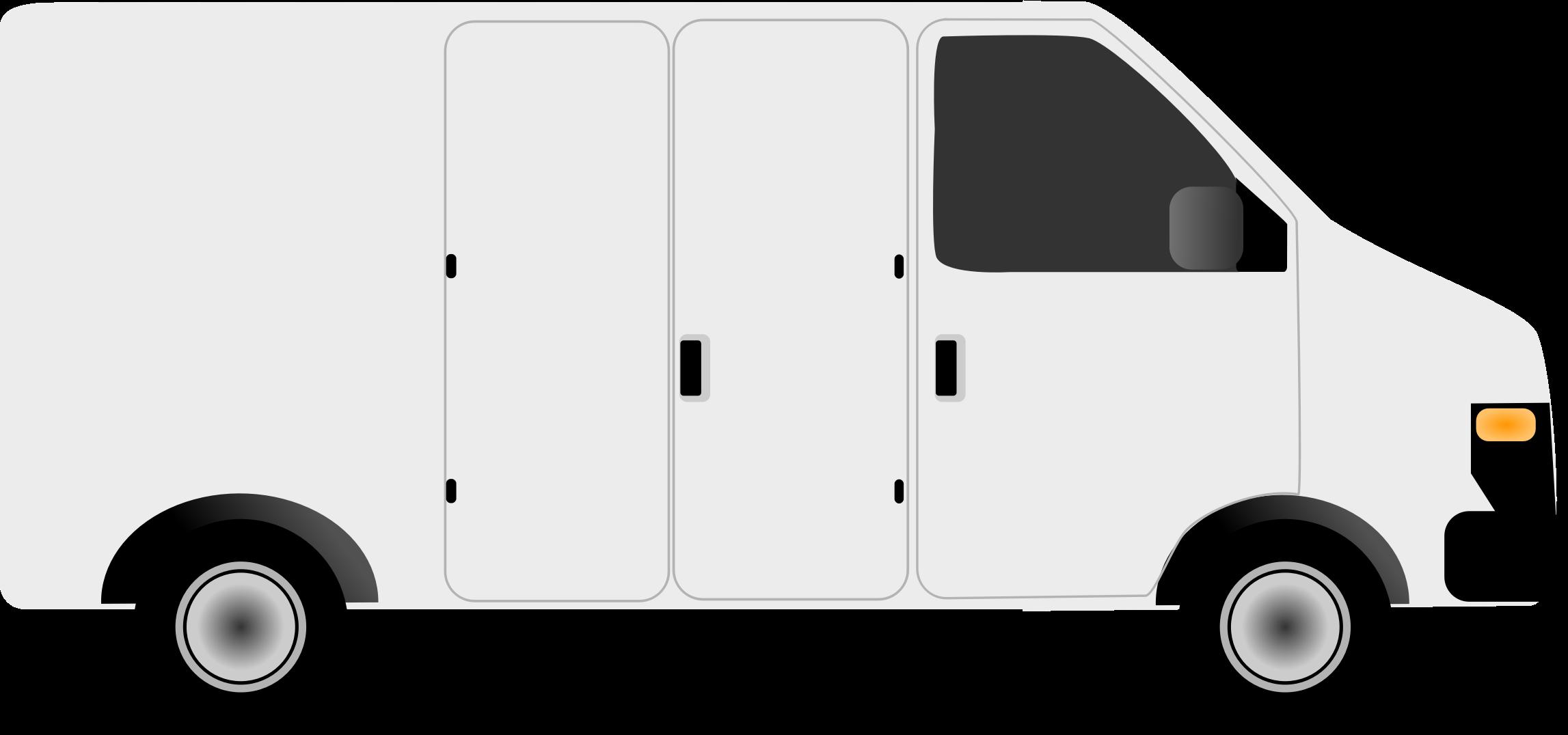 Minivan clipart courier van. Ford transit volkswagen type