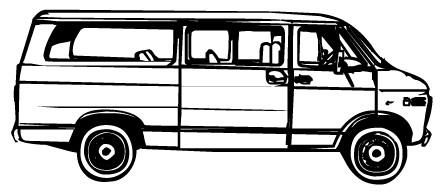 Minivan clipart cute. Free white van cliparts