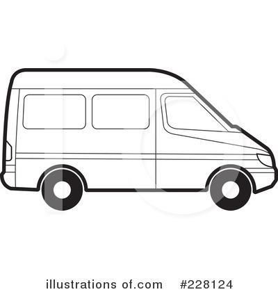 Van look at clip. Minivan clipart cute