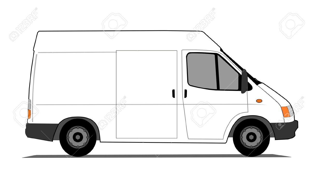 van clipartlook. Minivan clipart delivery vehicle