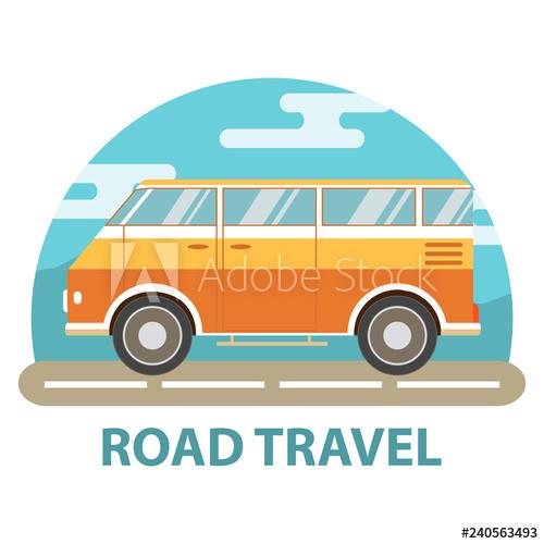 Minivan clipart family adventure. The van for travel