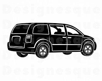 Car svg etsy . Minivan clipart family adventure