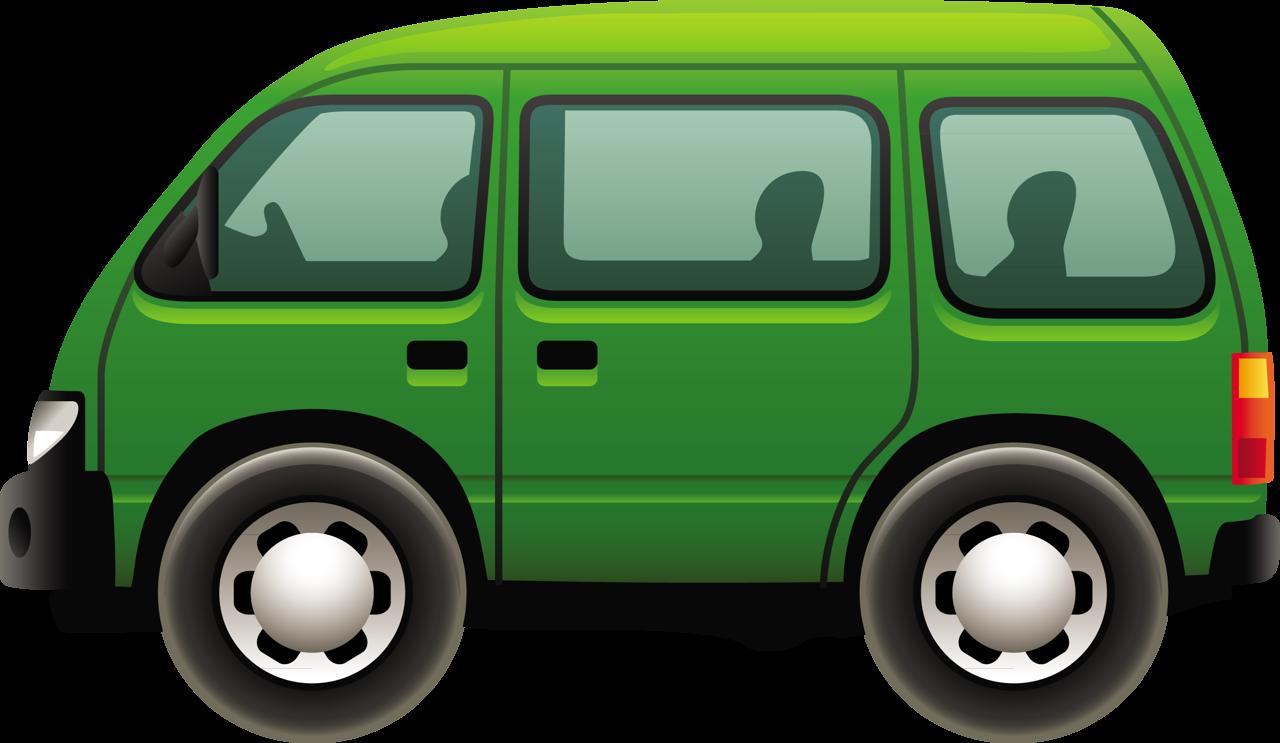 Png download free images. Minivan clipart green car