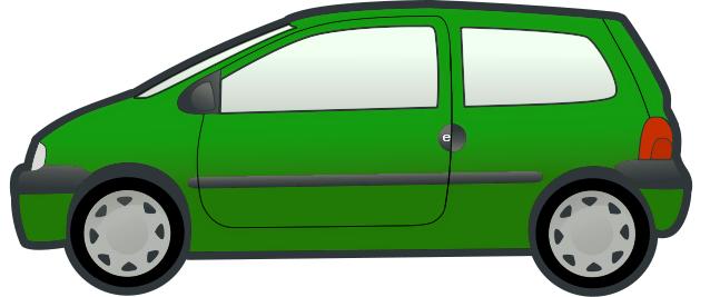 Minivan clipart green car. Free clip art download