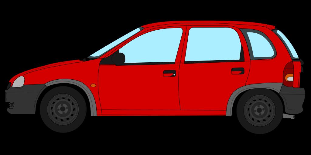 File opel corsa b. Minivan clipart hatchback