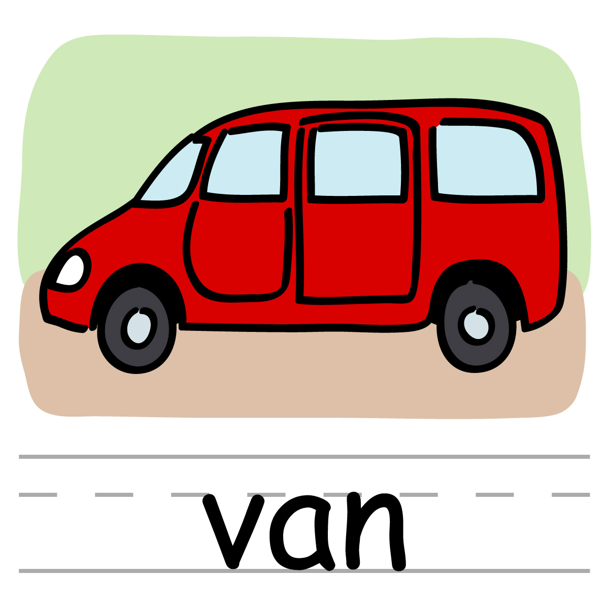 Kids portal . Minivan clipart kid
