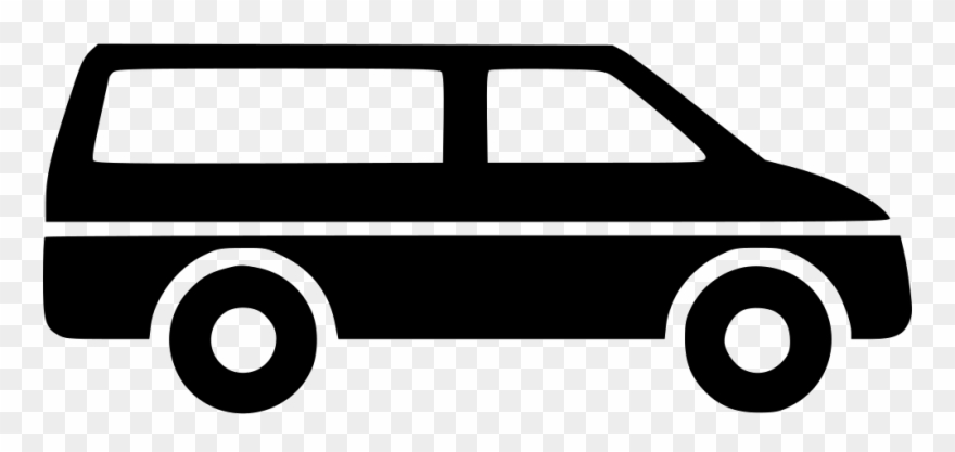 Minivan clipart mail van. Icon png transparent