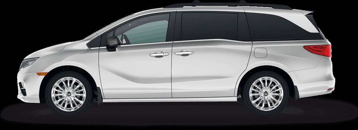 Odyssey a car full. Minivan clipart mpv