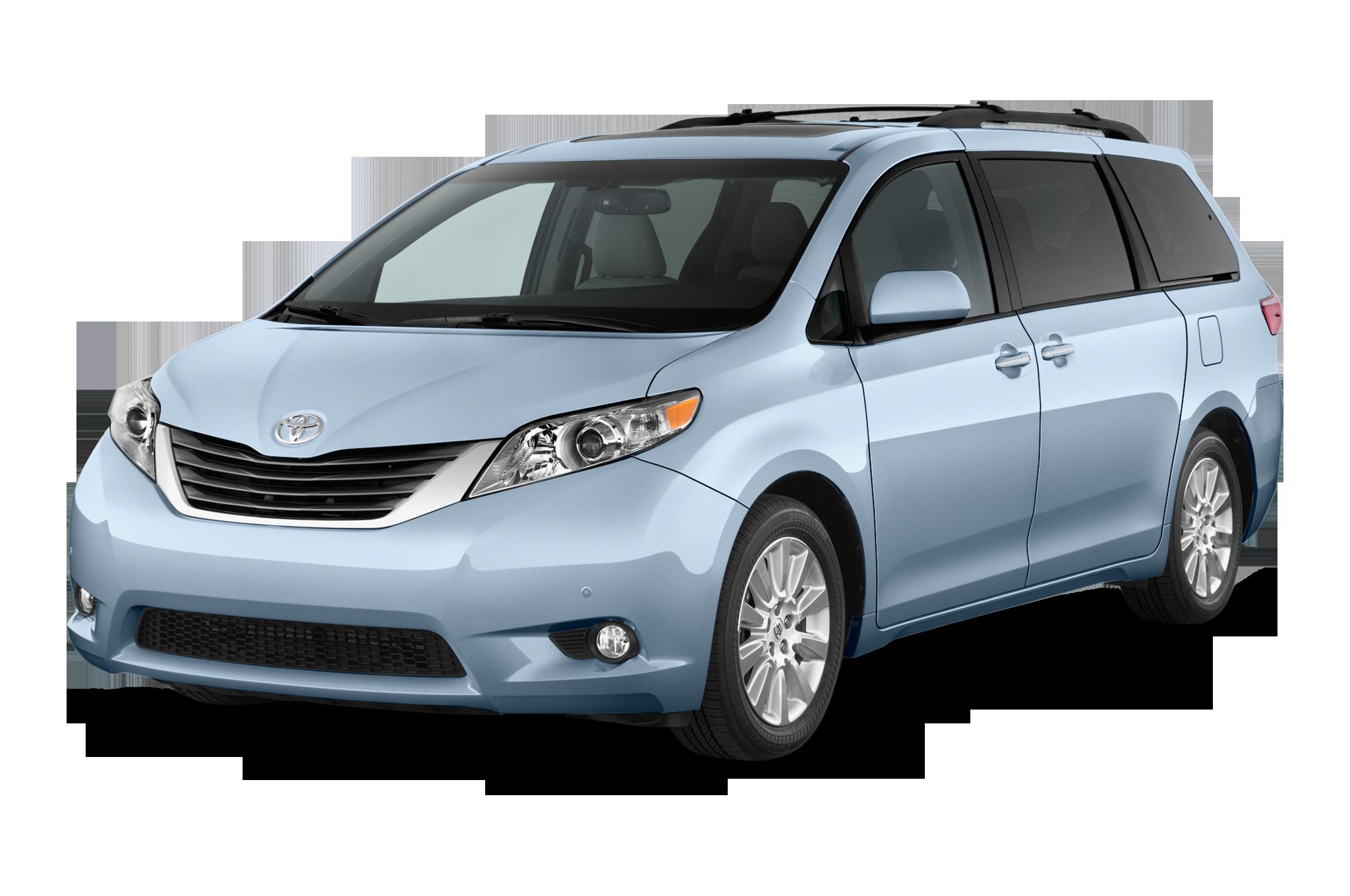 toyota sienna reviews. Minivan clipart passenger
