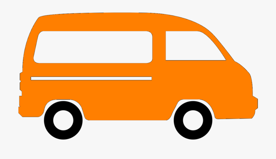 Minivan clipart passenger. Van free cliparts on