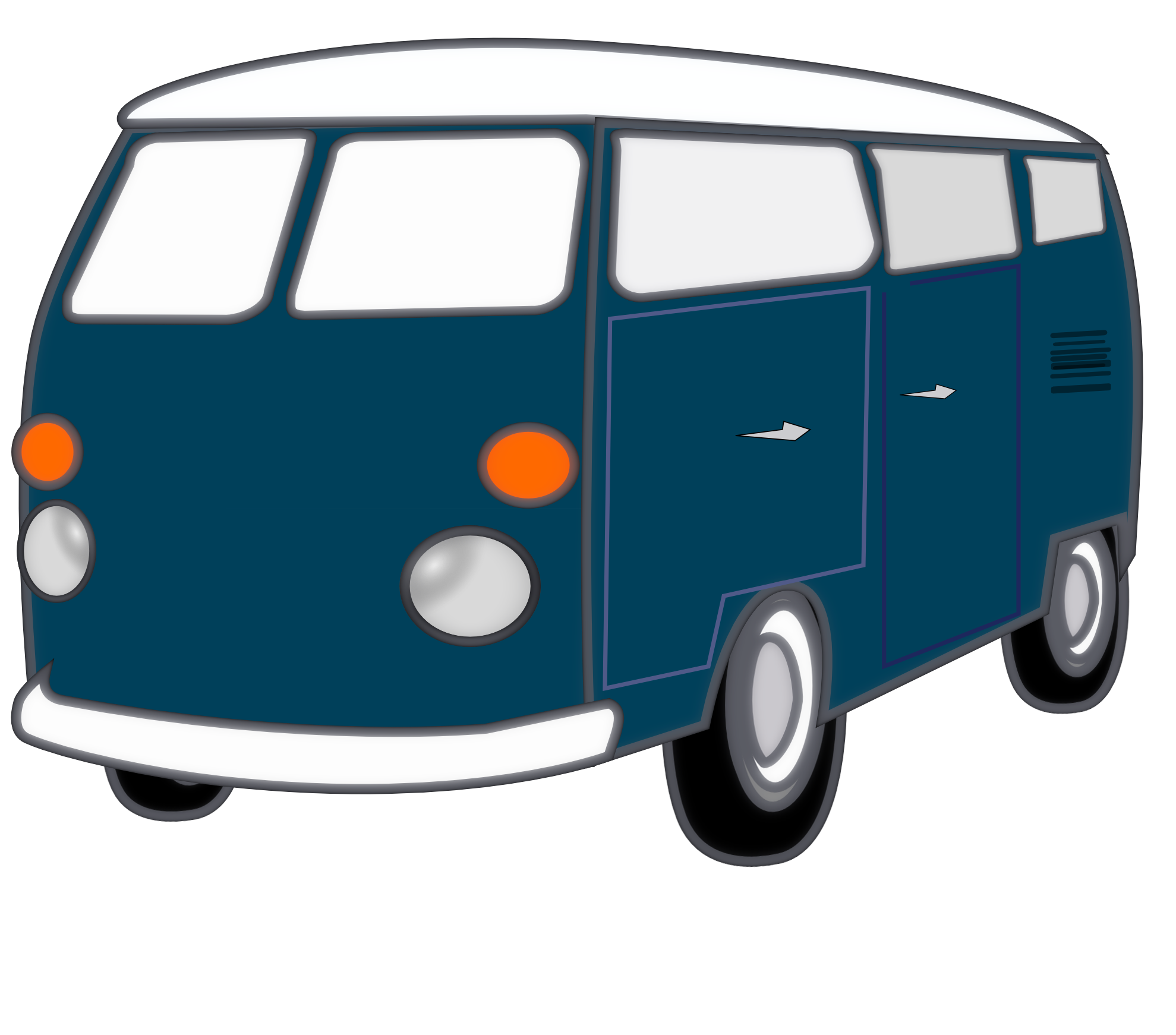 Minivan clipart svg.  collection of van