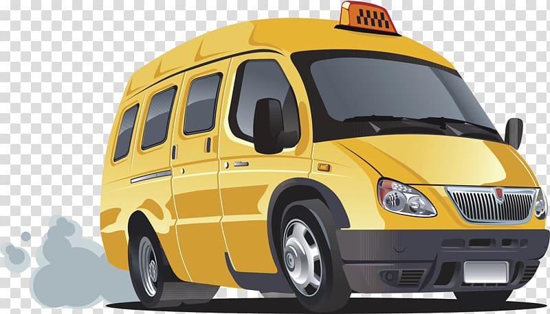 Minivan clipart taxi bus. Van school transparent background