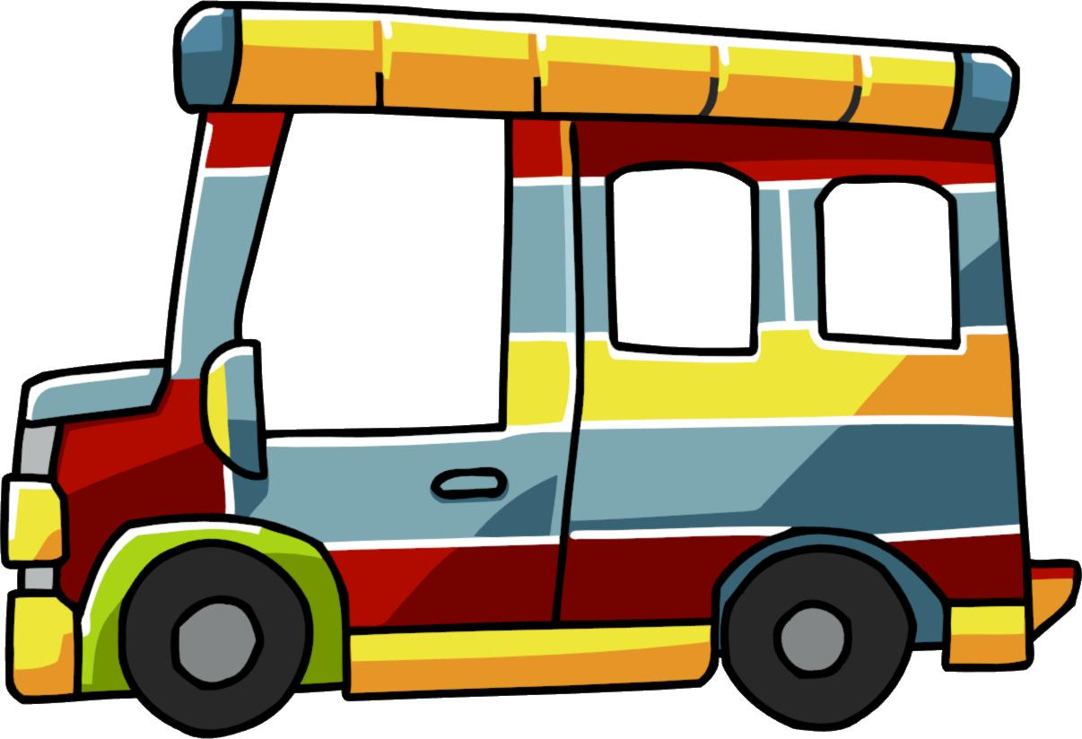 Tap scribblenauts wiki fandom. Minivan clipart taxi bus