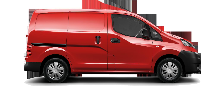 Commercial vehicles vans trucks. Minivan clipart top view